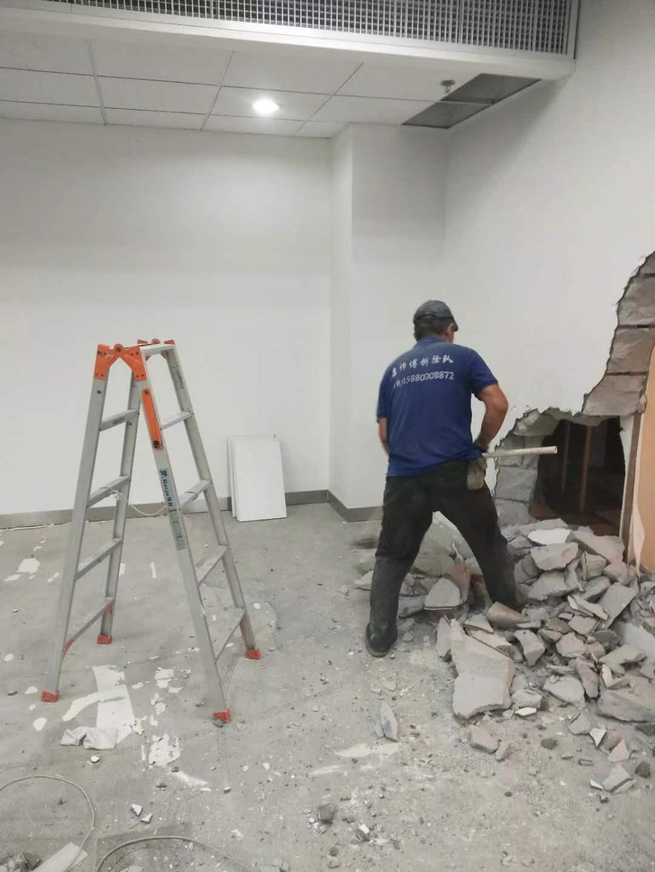 福州鼓楼区拆混泥土墙服务