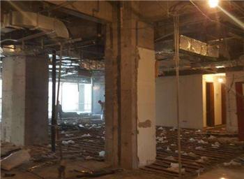 福州鼓楼区拆混泥土墙